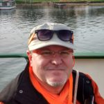 Werner Gutheil mit Käppi und Sonnenbrille